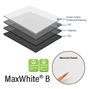 Elite screen MaxWhite B material 4K ultra HDHDR ready 3D
