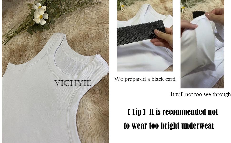 white tank top for women