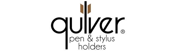 Quiver Pen Holder For Notebooks & Stylus Holder For Tablets