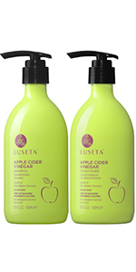 apple cider vinegal shampoo