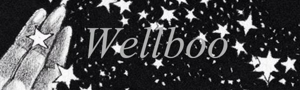 wellboo black duvet cover