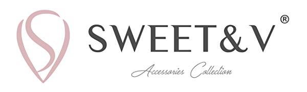 SWEETV Pearl Earrings