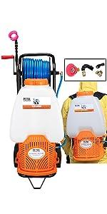 Petra Battery Powered Sprayer Reel Cart