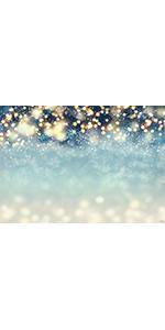 Christmas Bokeh Snow Backdrop