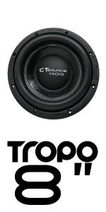 CT Sounds Tropo 8 inch Car Audio subwoofer