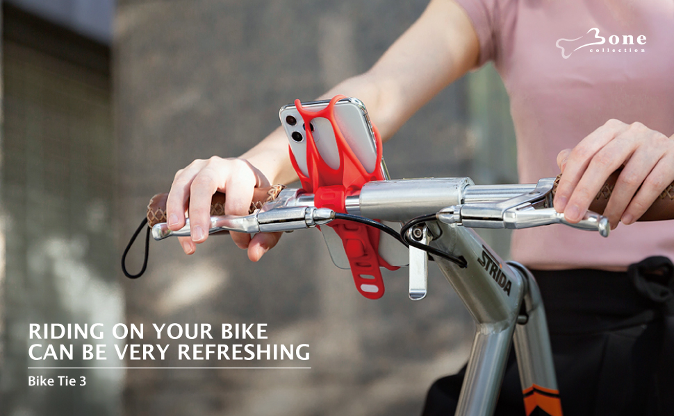 Bone Collection Bike Phone Mount