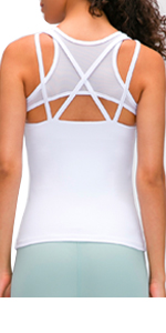 2-in-1 Workout Tank Top