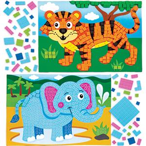 Jungle Mosaic Crafts