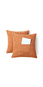 pillow for couch color orange cushion covers cotton orange pillows throw pillows orange 18x18 inch