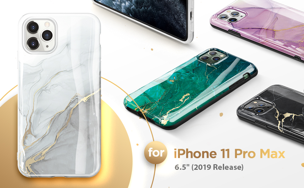 Marble Case for iPhone 11 Pro Max 2019 6.5''
