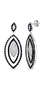 Drop Earrings Diamond