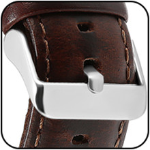 leather band compatible with versa bands for men
