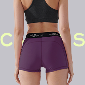 Flatlock seams reduce chafing and increase comfort Triangular gusset Allows a full range of motion.