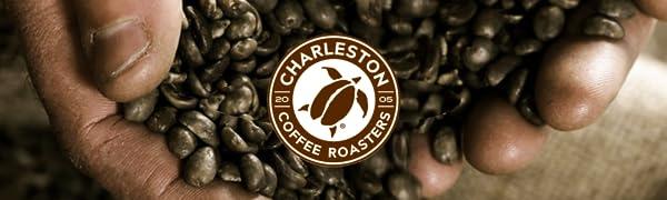 CHARLESTON,COFFEE,ROASTERS,ROAST,ORGANIC,BAGGED,GROUND,BAG,FAIR,TRADE,ROASTED,PREMIUM,SMOOTH,PREMIER