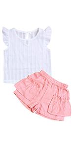 girl shorts sets