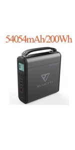 200wh power station ac outlet power bank laptop