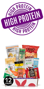 High Protein Sampler Box