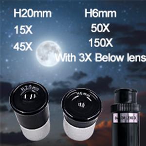 with 3X Below Lens