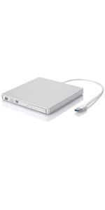 ROOFULL USB 3.0 CD DVD drive burner for mac macbook pro air
