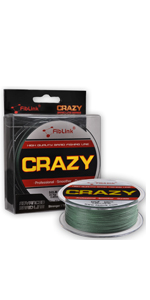 Braided Fising Line Green