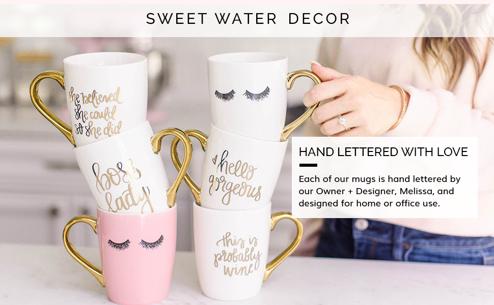 sweet water decor, motivational gifts, boss lady gifts, inspirational gifts, gifts for her