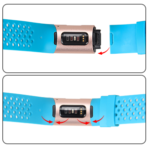 fitbit charge 4 wristbands