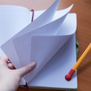 Page flipping rubber eraser gripping eraser