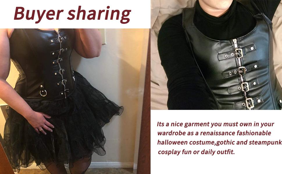 steampunk gothic coorset for women