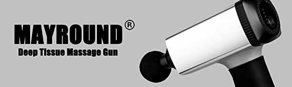 deep tissue body massage gun