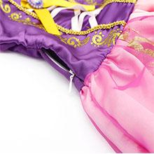 little girls dresses ruffle HG018-7