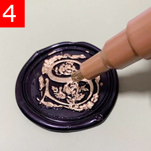 Initial Letter Wax Seal Stamp