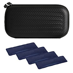 Insulin cooler case, cases, lightweight, portable, cooling, removable organizer for traveling