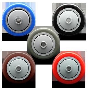 Service Caster, polyurethane wheel