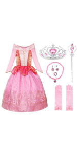 Girls Princess Party Dress