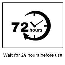 wait 72 hours
