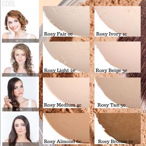 natural mineral makeup foundation primer base dark skin medium fair vegan organic cruelty free