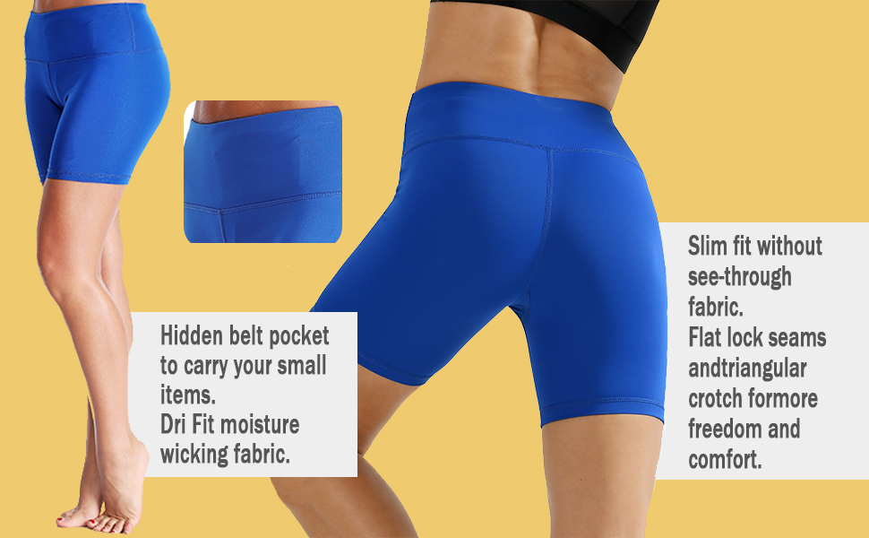 Slim fit without see-through fabric/Flat lock seams and triangular crotch for more freedom
