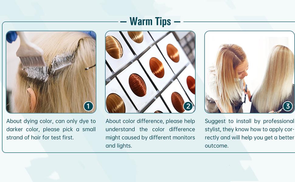 laavoo warm tips nano ring tips hair extensions