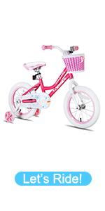 angel girls bike