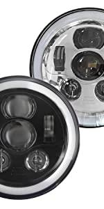 led headlight for harley davidson