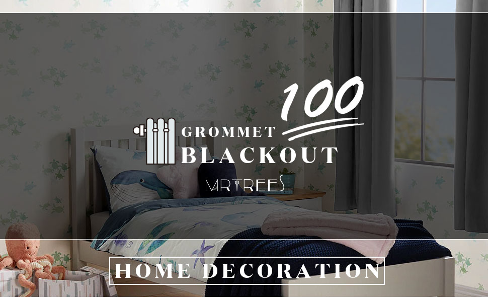100% blackoout curtains