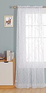 dot white sheer curtains for living room outdoor sliding glass door voile sheers