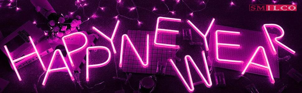 neon letter light