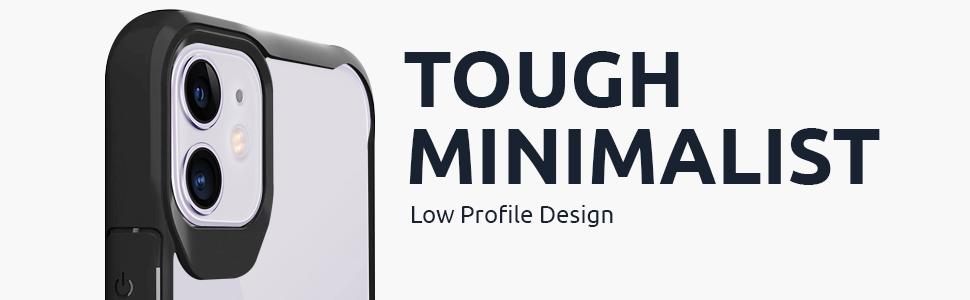 tough minimalist low profile design flaunt minimal strong stylish style designer protection
