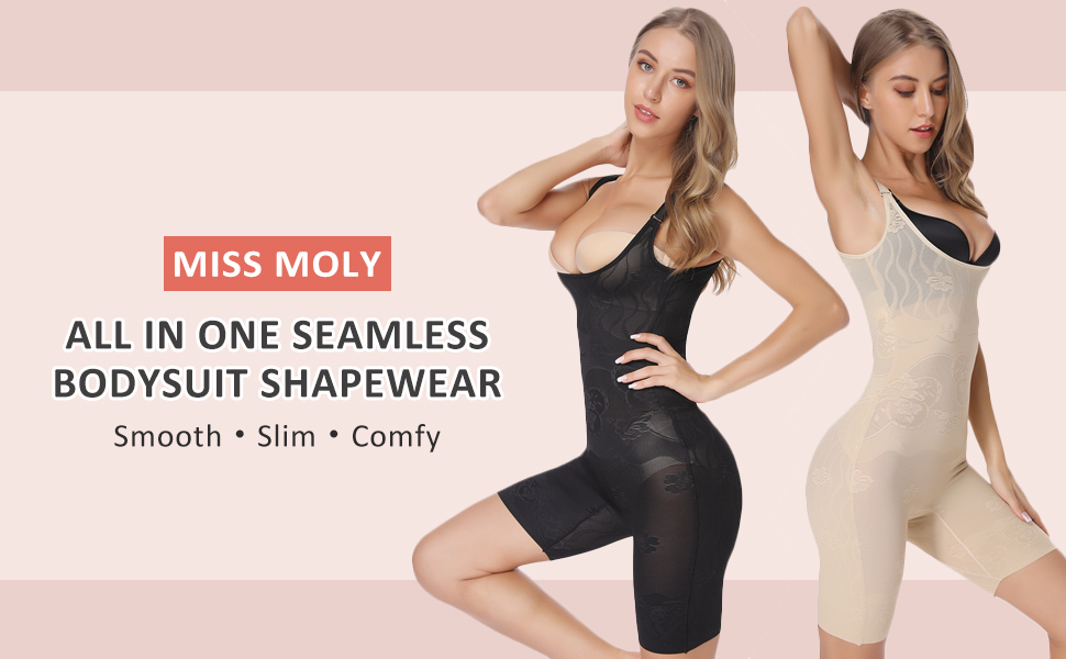 open chest bodysuit shaper