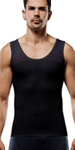 lavento men's body shaper vest compression tank top