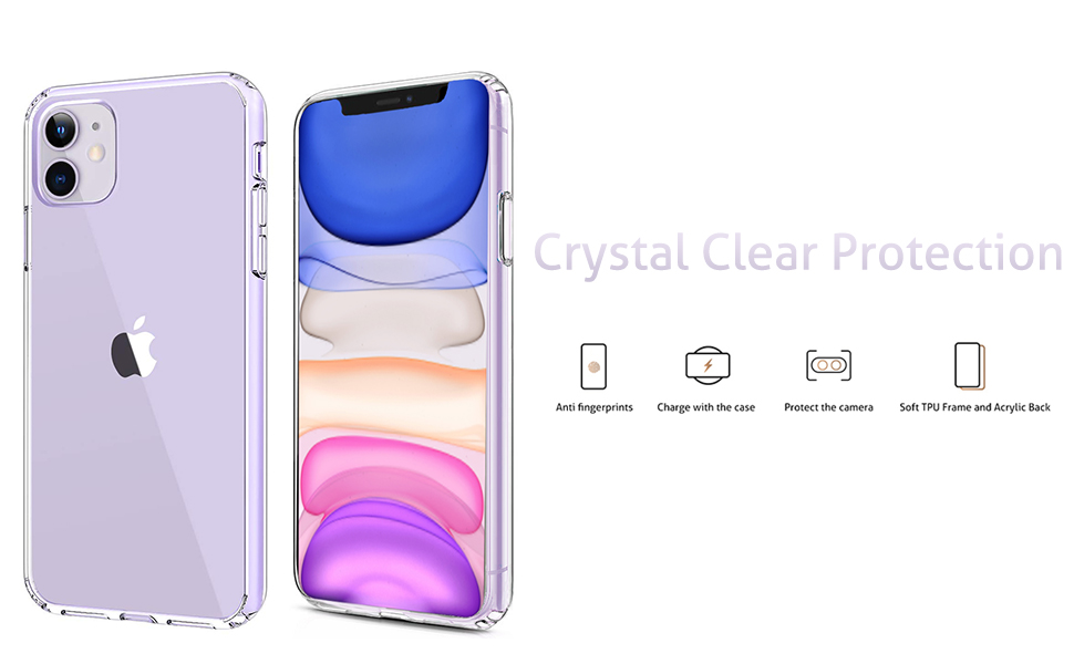 Homemo-iPhone6.1-2019-AcrylicTPU-Clear
