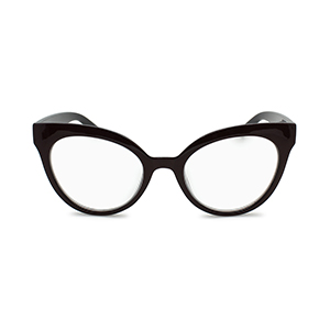 oversized cat eye reading glasses for women garnet red