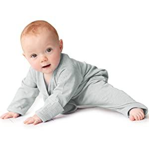 pajamas sleeping wearing merino kids cocooi babywrap swaddler