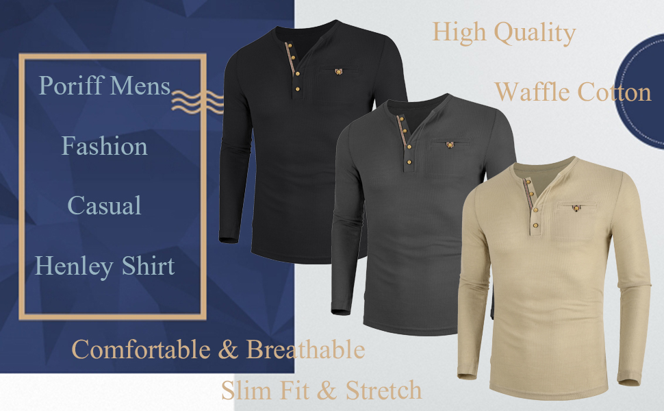 henley shirt for men